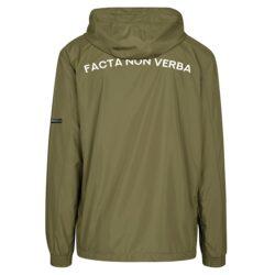 Olive Jacket Vendetta Facta non verba